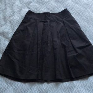 Express | Black Pleated Skirt